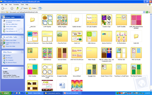 Organizing Clipart