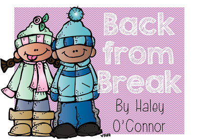 Back from Break Freebie!