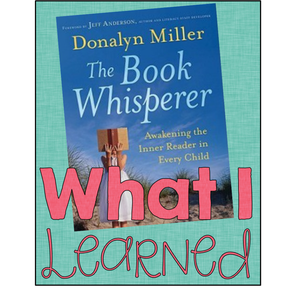 the book whisperer teaching with haley o connor rh teachingwithhaley com Sample Study Guides Book Discussion Books