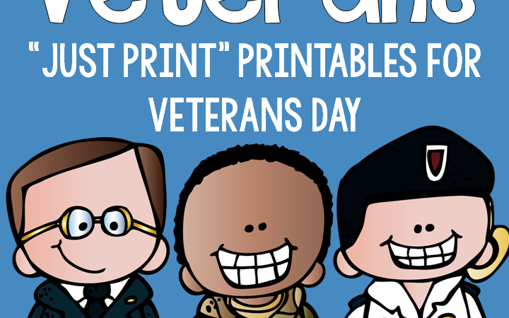 Veterans Day {Just Print}