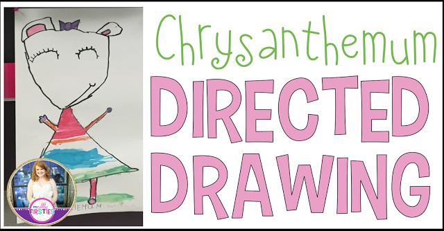 Chrysanthemum Directed Drawing