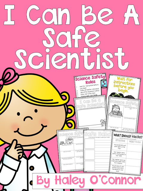 safety science unit rules lab activities scientific funny kindergarten scientists