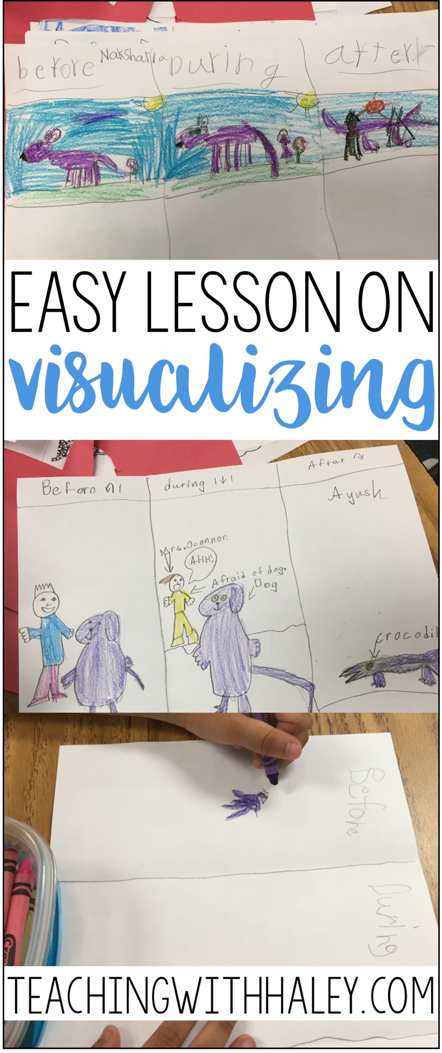 Easy Visualizing Lesson Long Pin