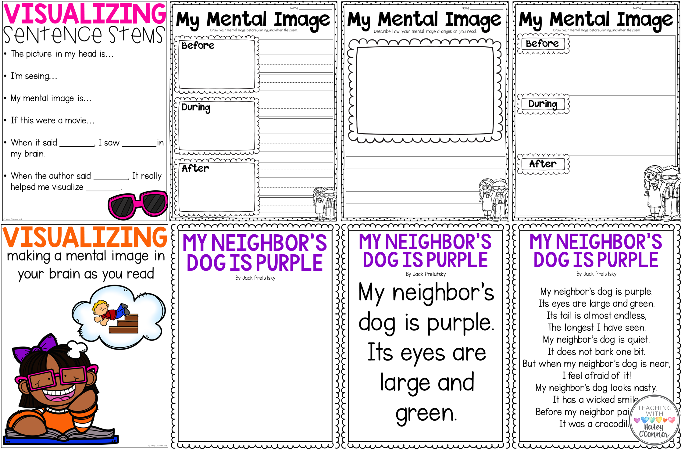 Freebies for Teaching Visualizing