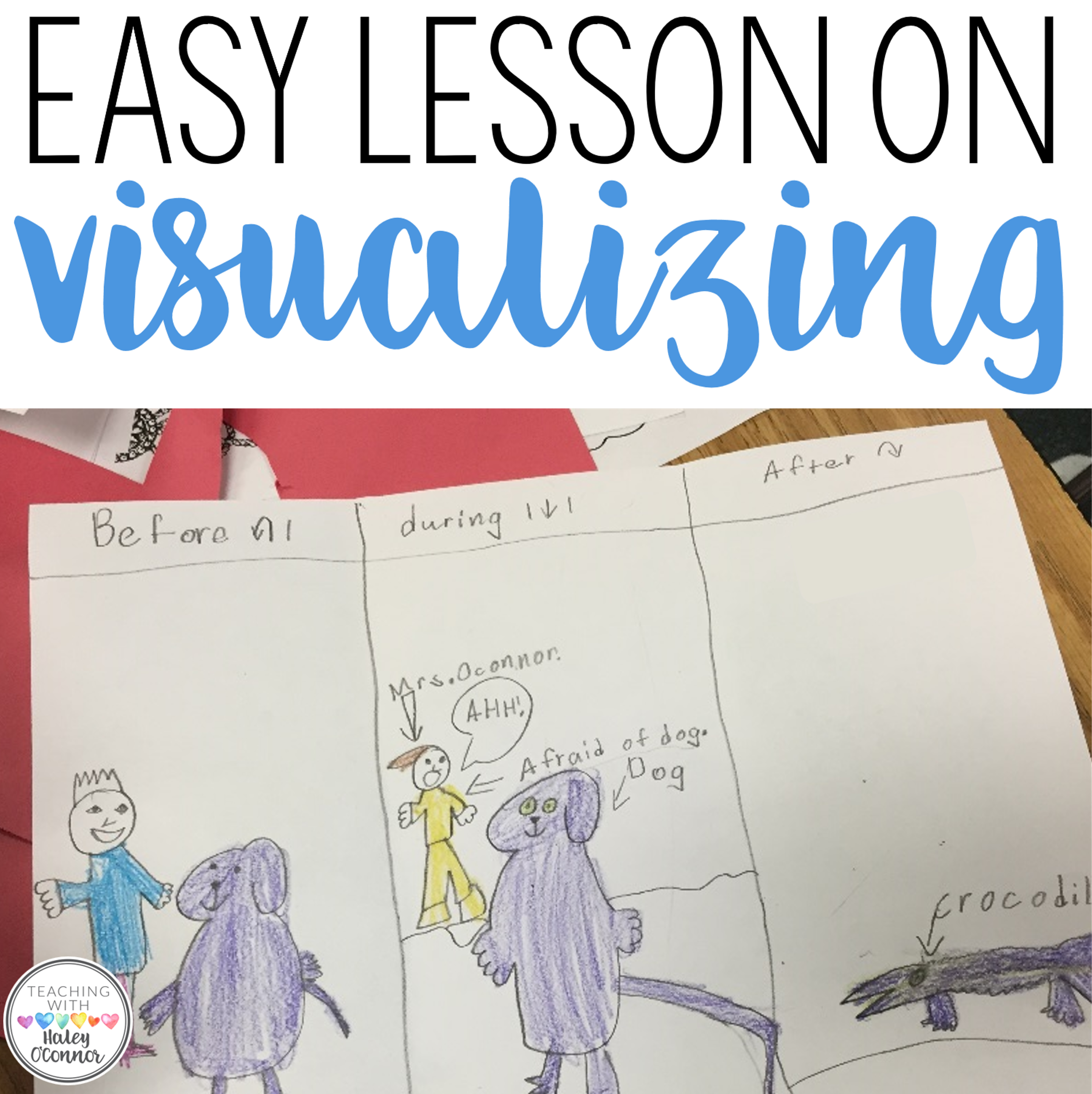 First Grade Visualizing Lesson with Short Poem