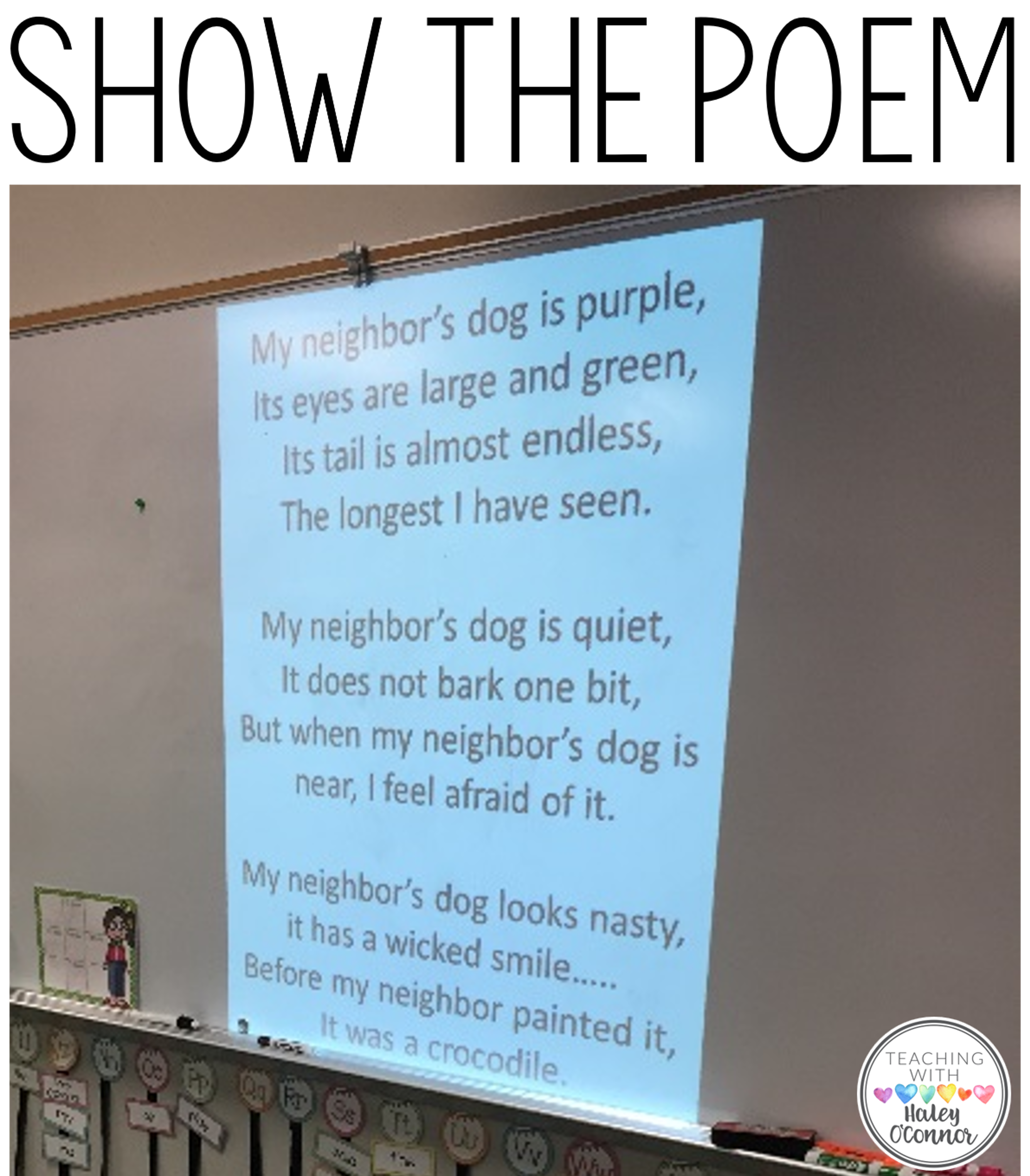 Visualizing Show the Poem