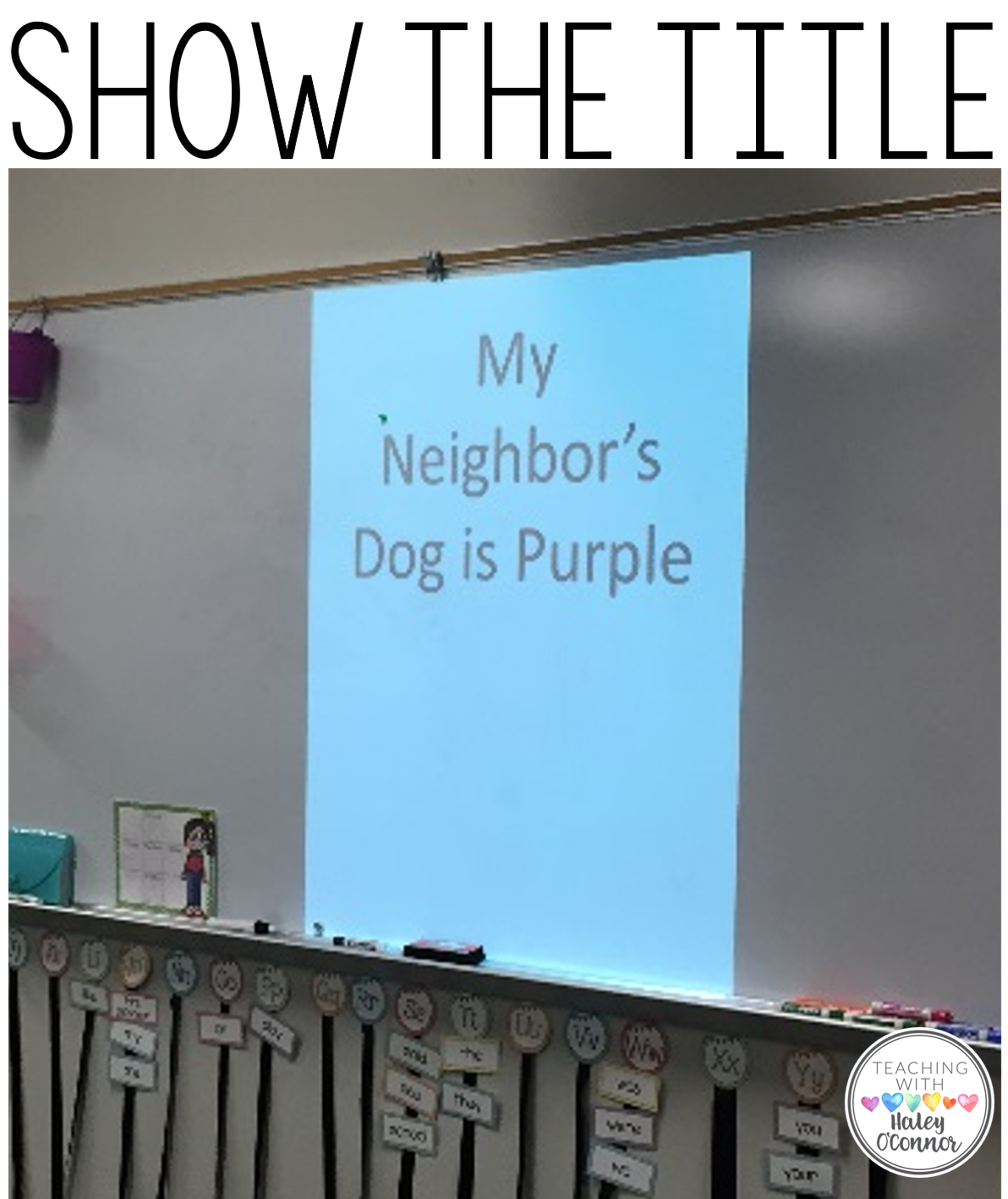 Visualizing Lesson-Show the Title