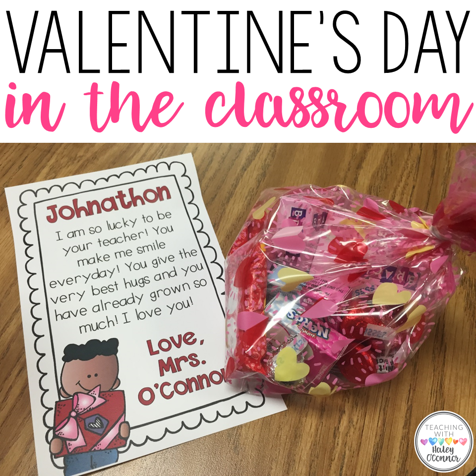Valentine's Day in the Classroom Ideas