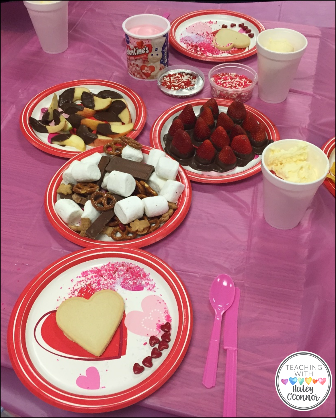 Valentine's Class Party Snacks