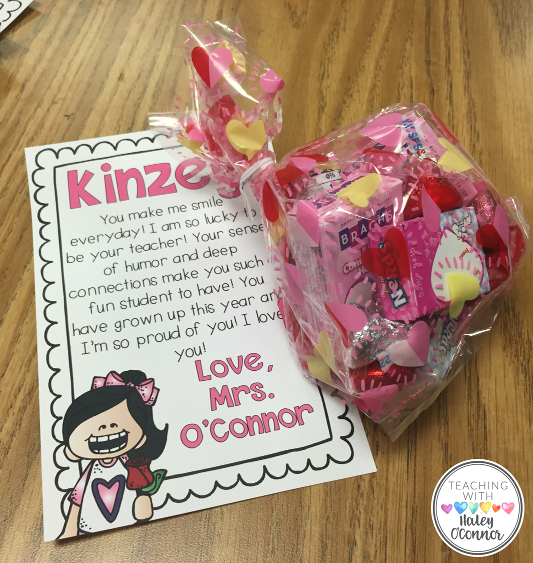 Valentine's Day Student Gifts from Teacher