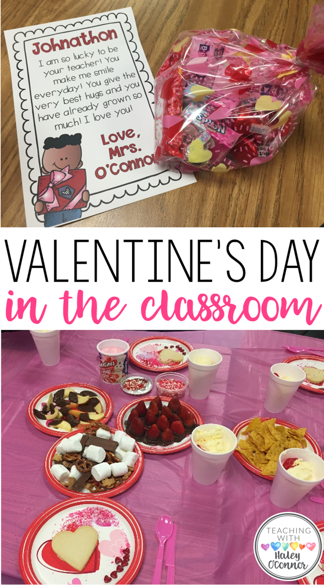Valentine's Day in the Classroom Blog Post