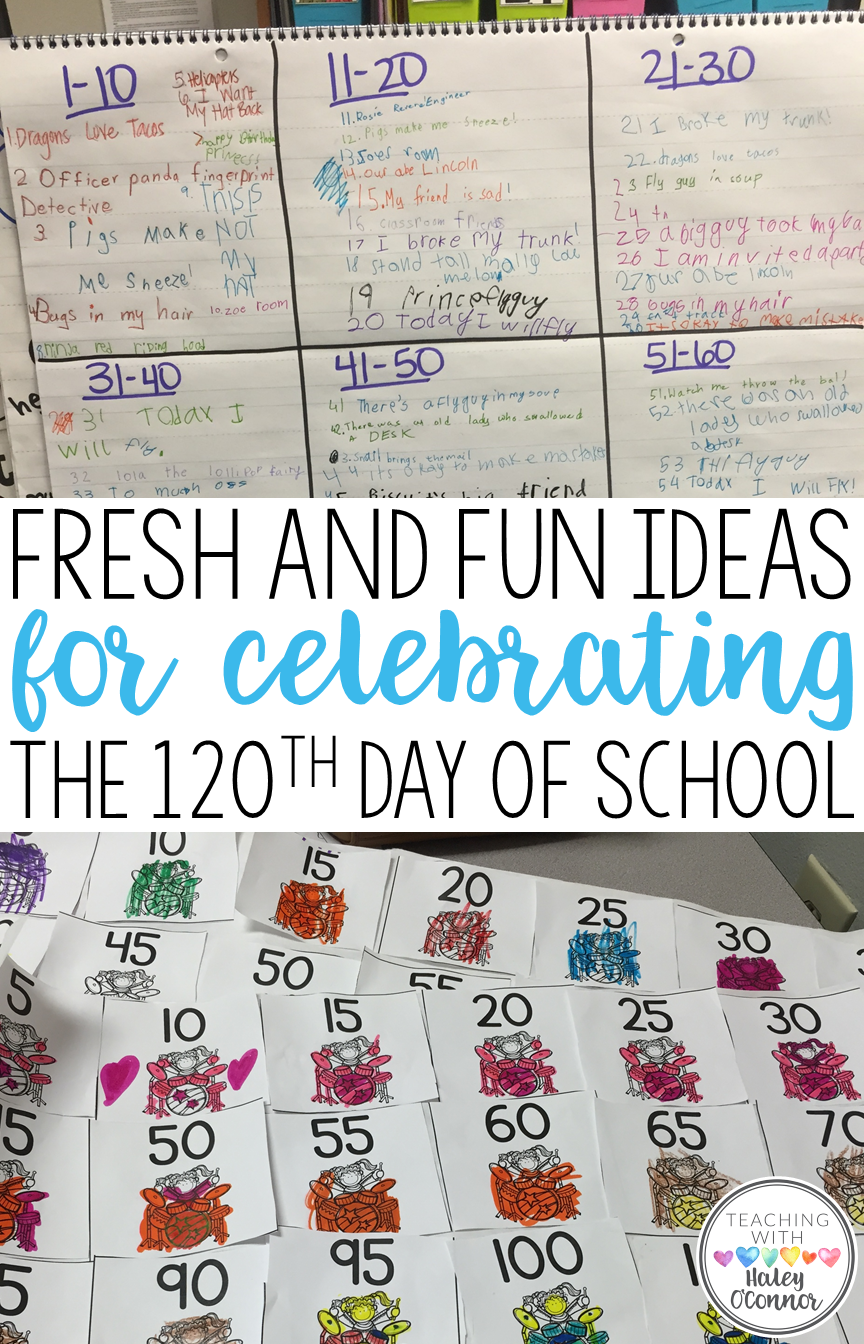Fresh And Fun Ideas for the 120th Day of School
