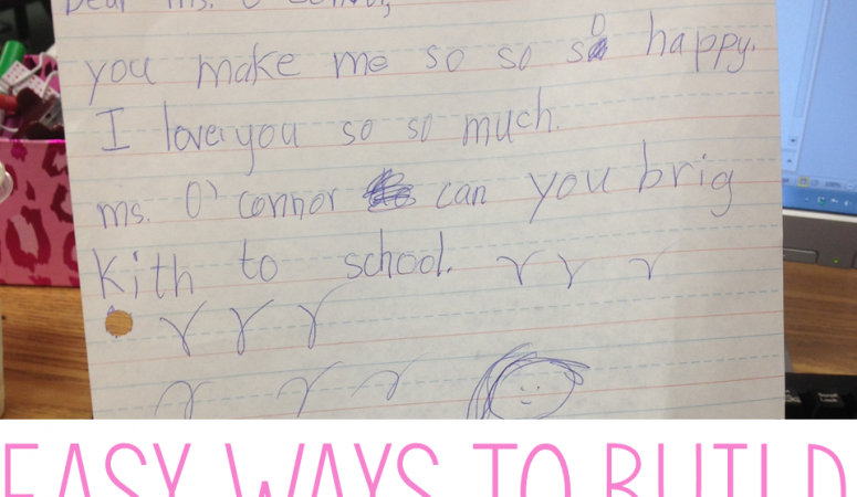 Easy Ways to Build Relationships With Your Students