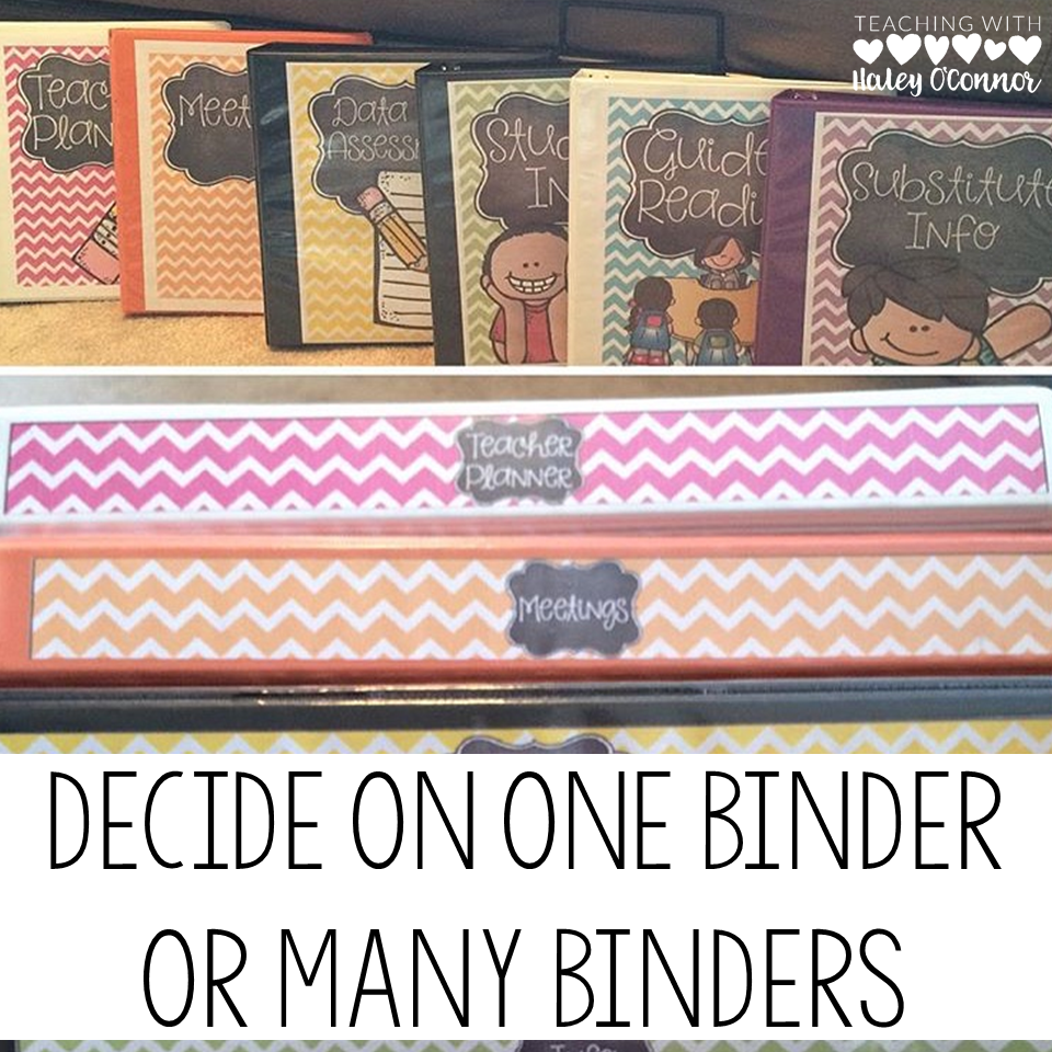 Building the Perfect Teacher Binder (2)