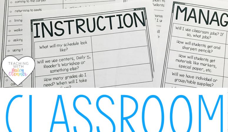 Classroom Survival Kit