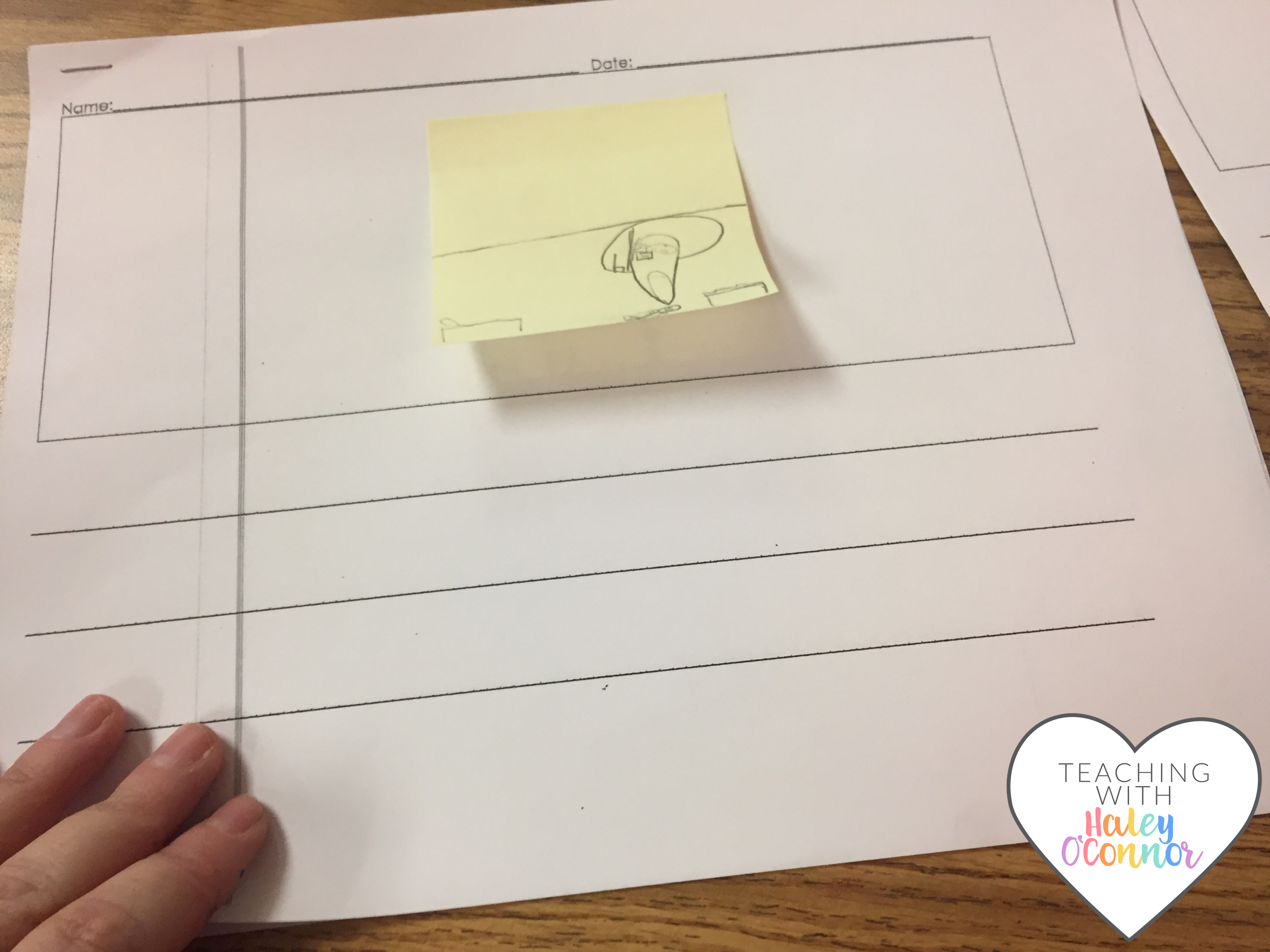 Graphic Organizer Student Writing