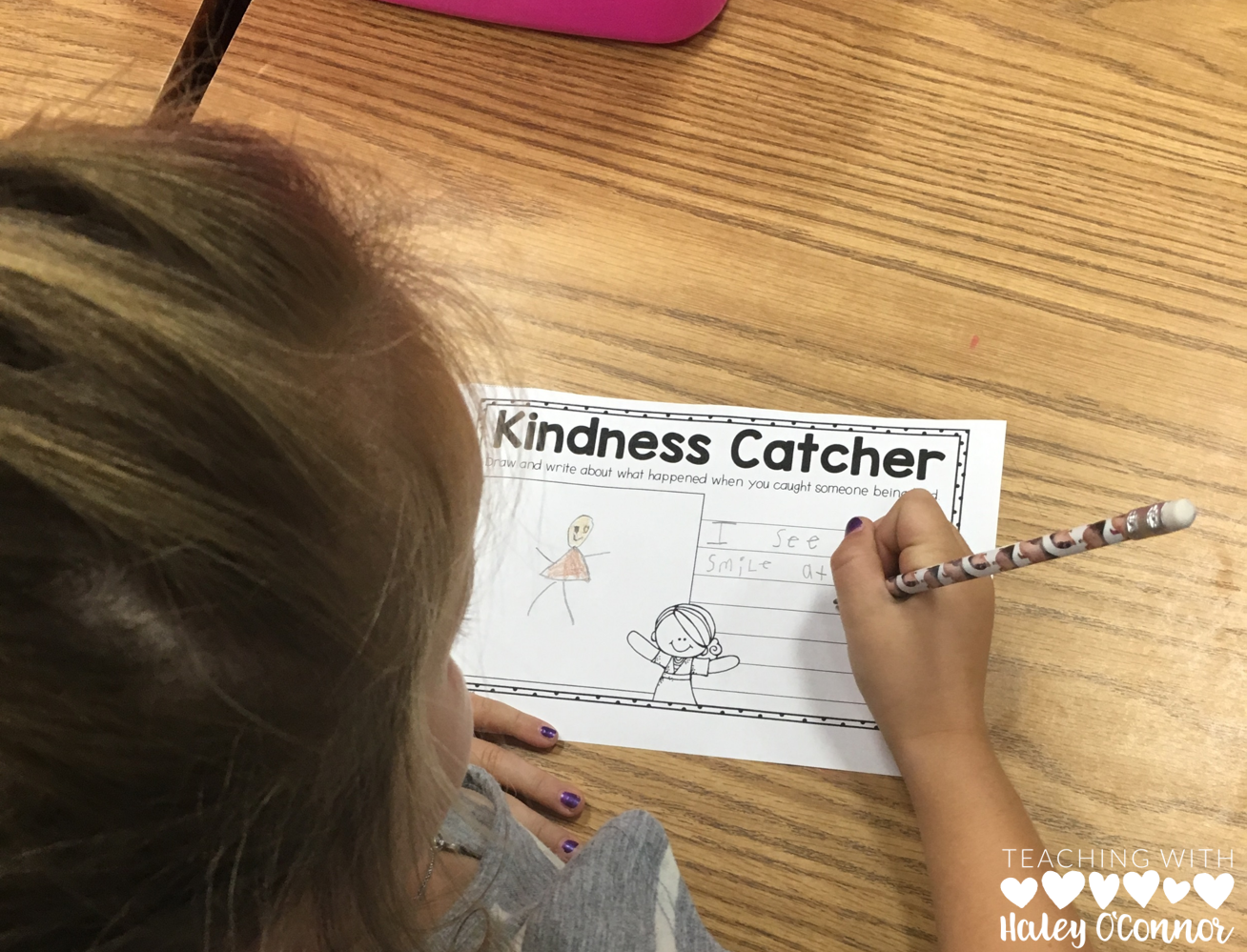 Kindness Catcher Note Classroom