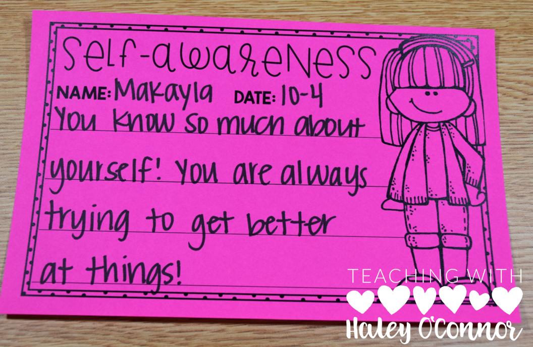 Self-Awareness Character Award