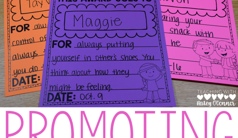 Promoting Great Character in the Classroom