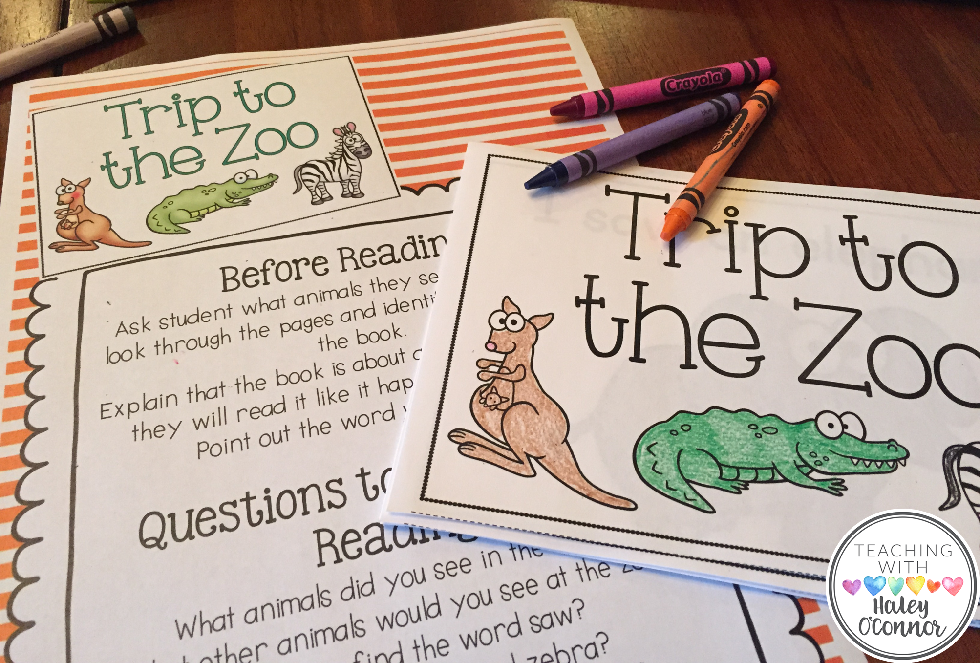 Early Guided Reading Printable Book