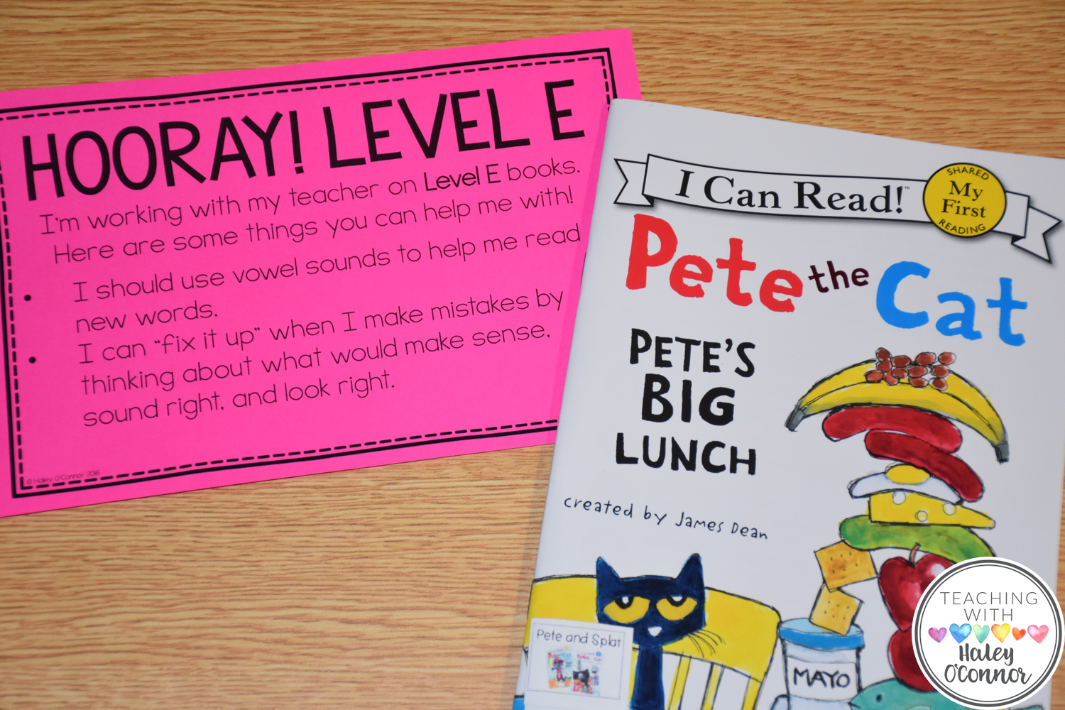 Leveled Guided Reading Letter for Parents