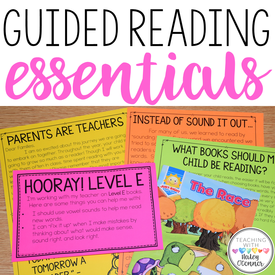 Guided Reading Tools and Resources for Teachers