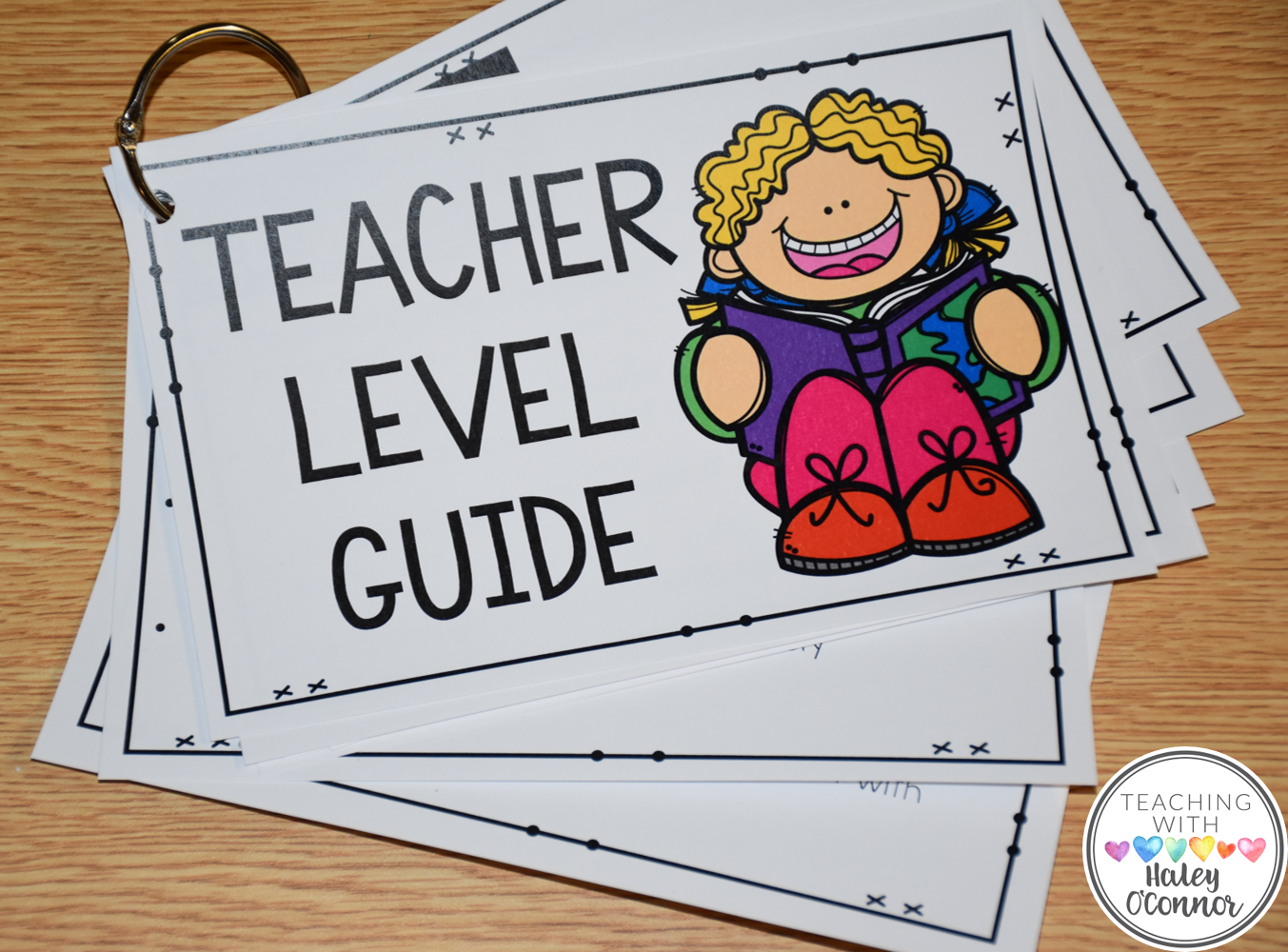 Teacher Level Guide for Guided Reading