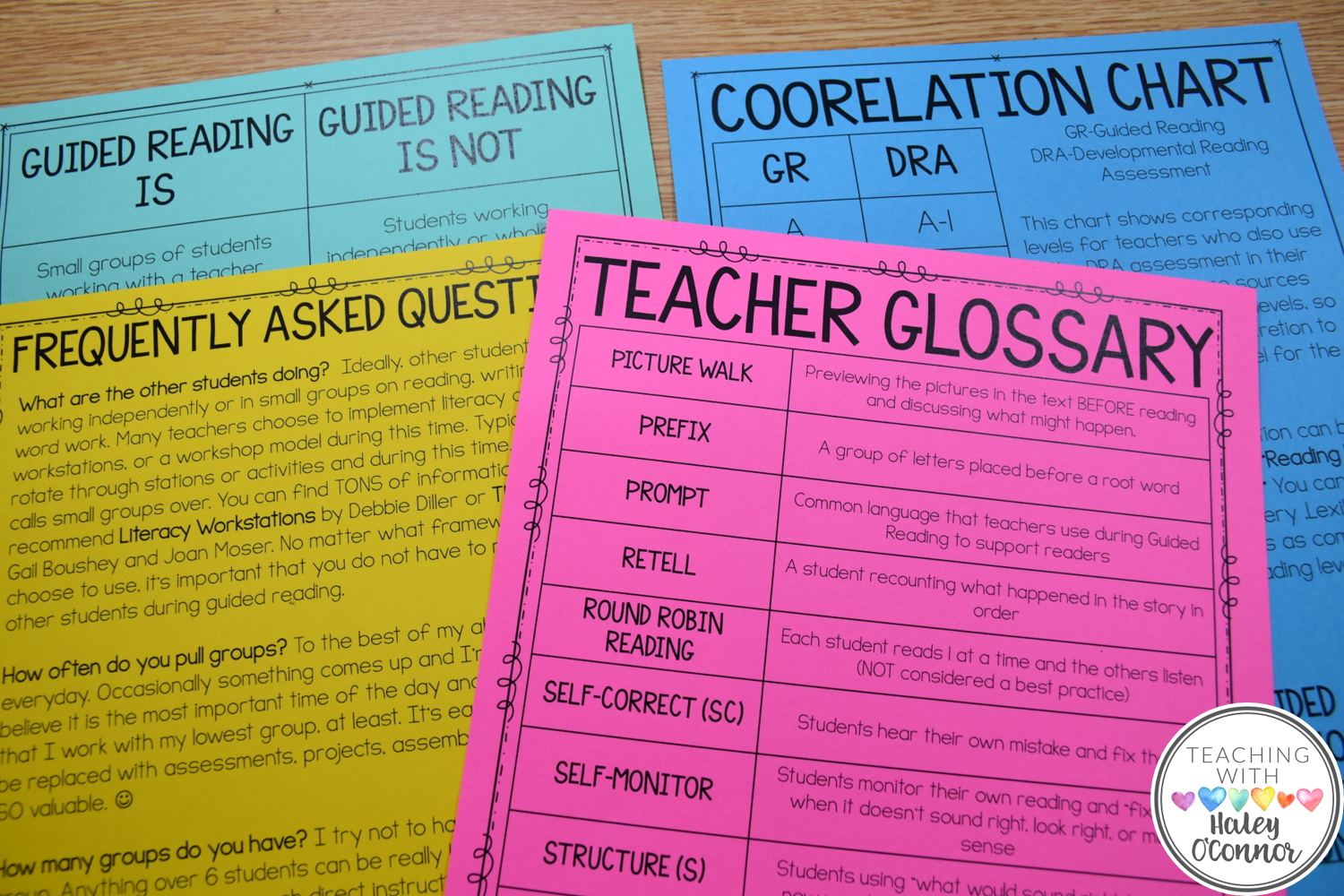 Teacher Resources for Guided Reading 2