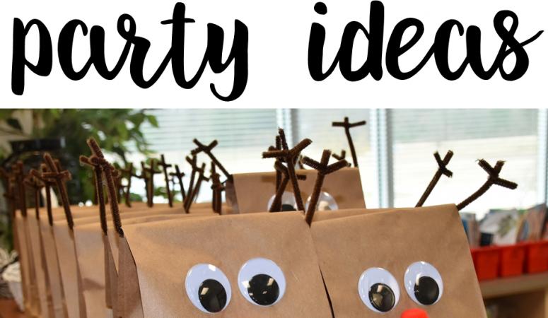Classroom Reindeer Party Ideas
