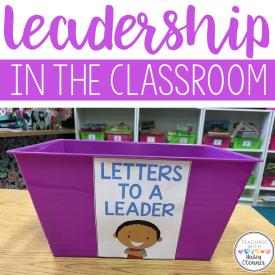 Teaching Leadership in the Classroom