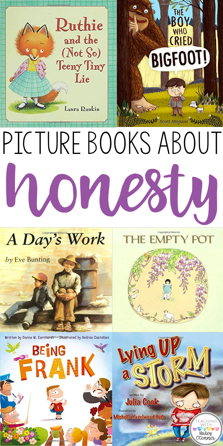 Picture Books About Honesty; Honesty Read-Alouds