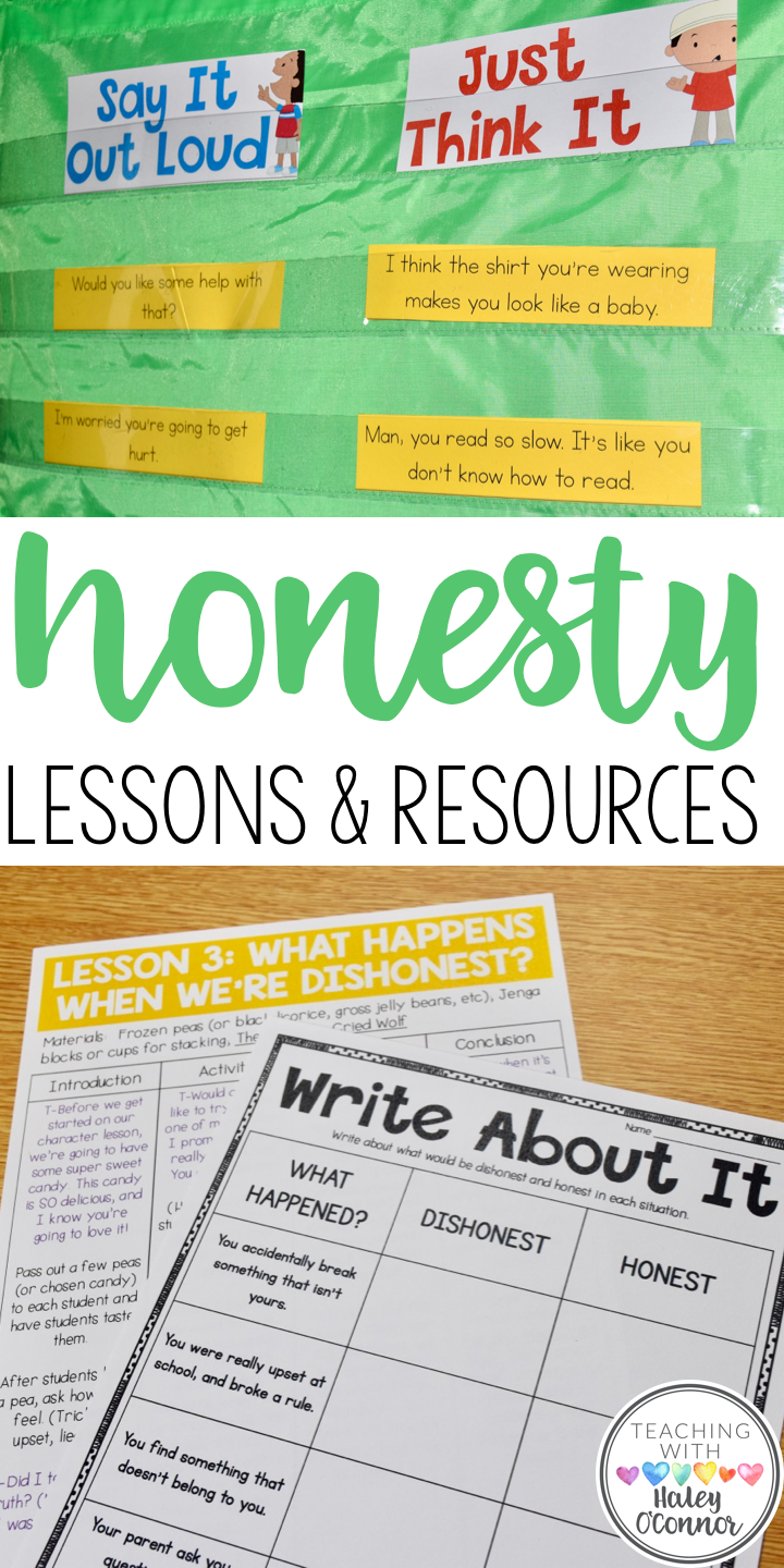 Teaching Honesty in the Classroom