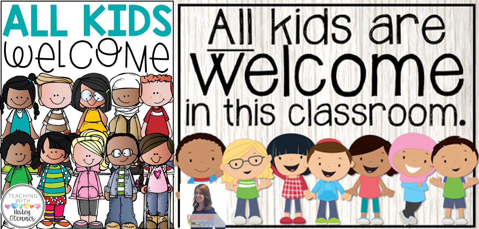 All Kids Welcome Free Poster