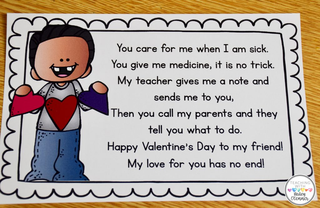 Valentine Inferring Card