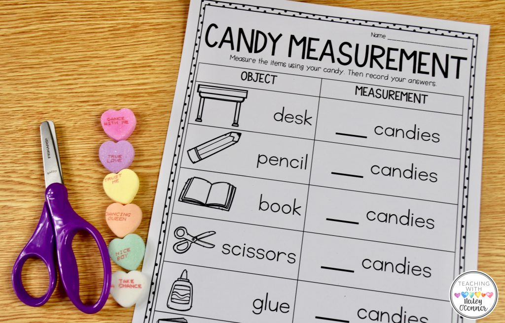 Candy Heart Measuring