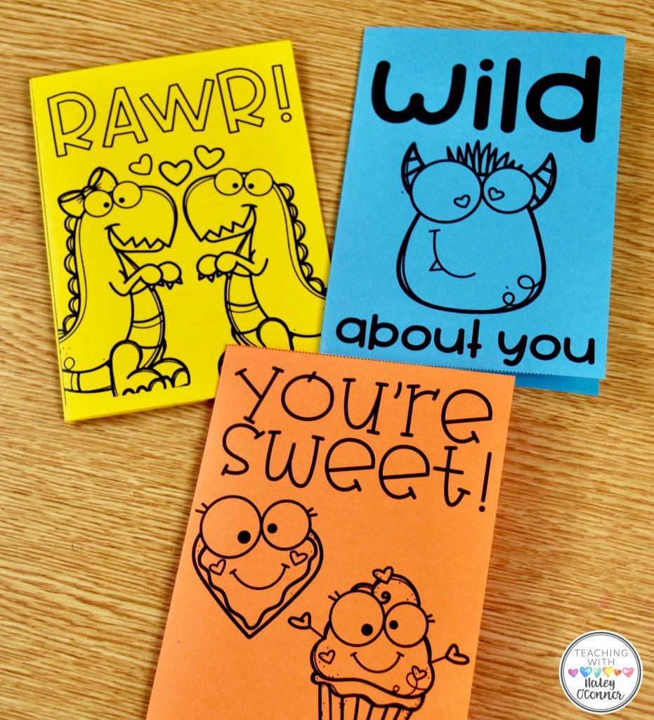 Foldable Valentine Cards