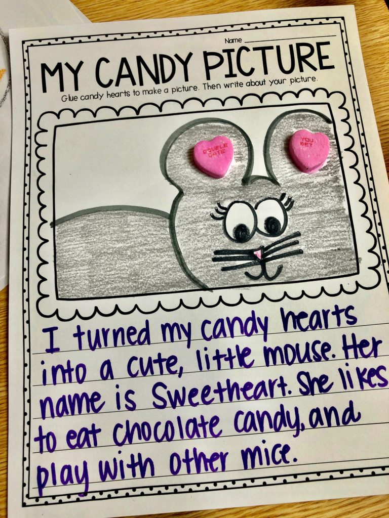 Candy Heart Picture