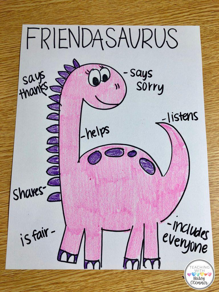 Valentine Directed Drawing-Friendasaurus