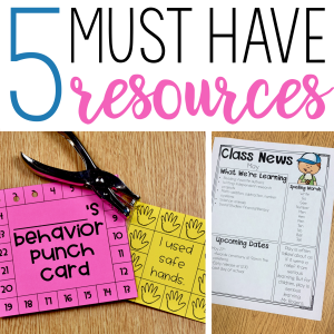 5 Must Have Resources