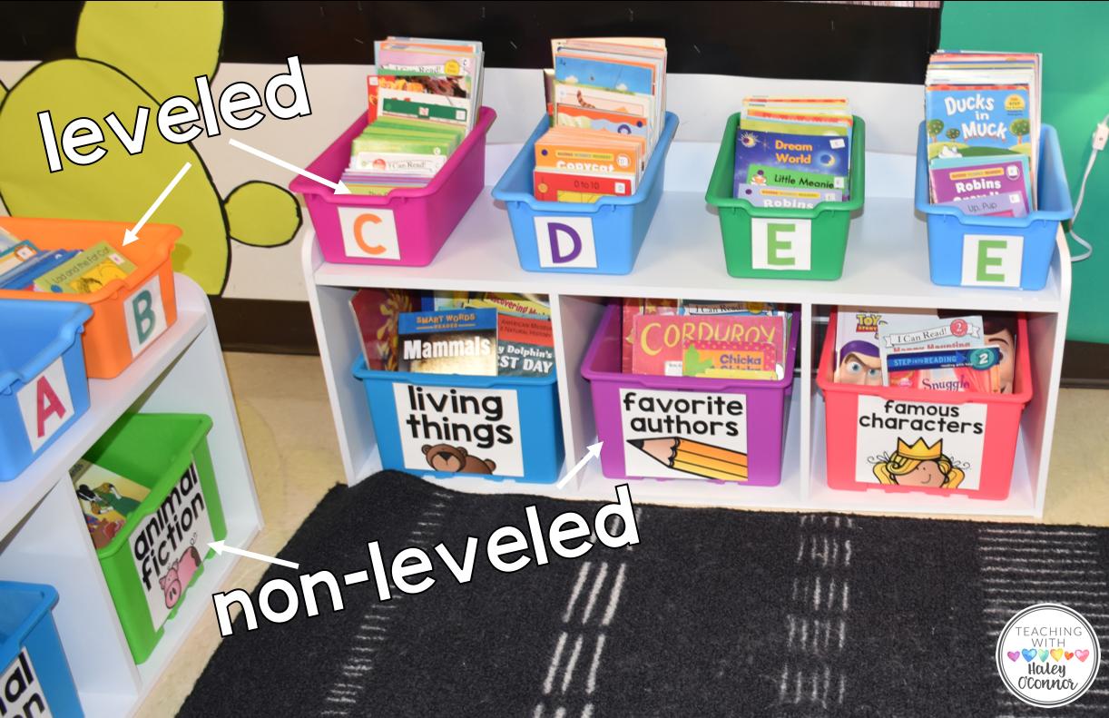 Classroom Library Leveled and Nonleveled
