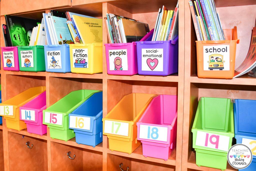 Teacher Read Aloud Organization