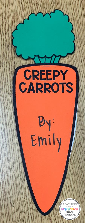 Creepy Carrots Book