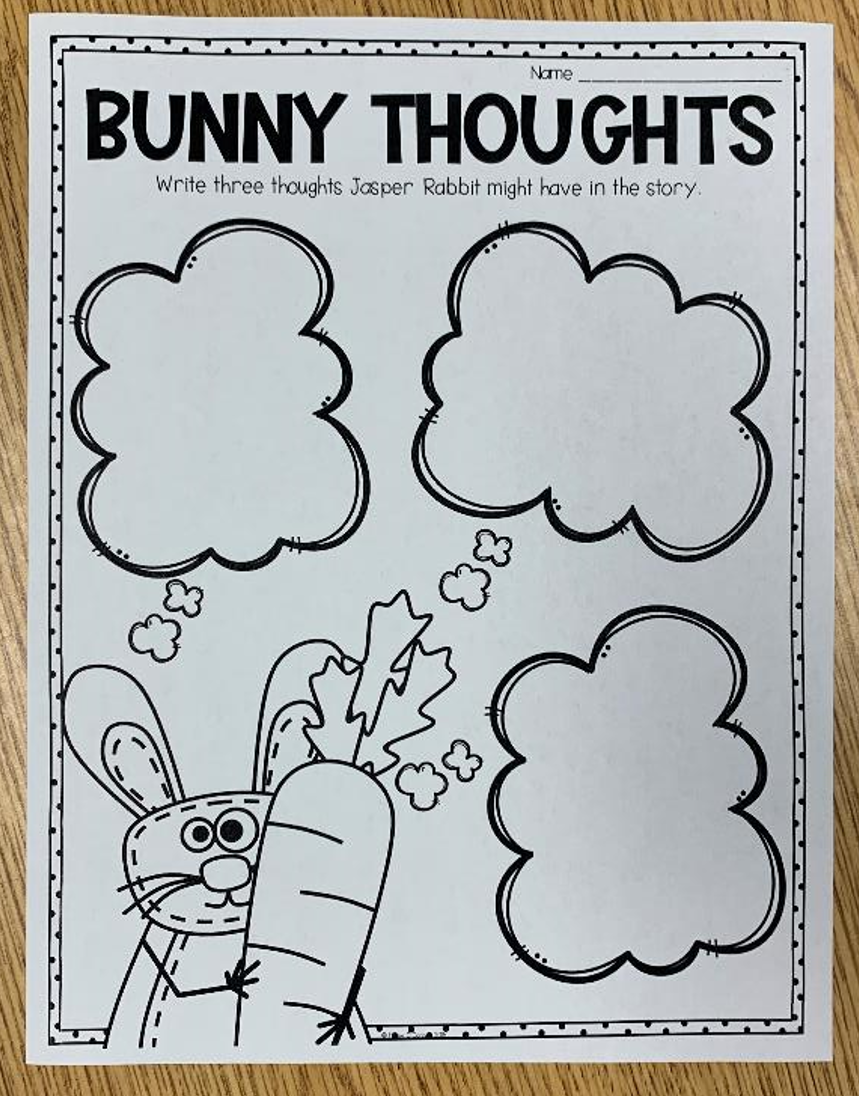 Creepy Carrots Bunny Thoughts