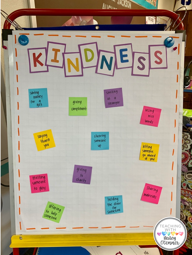 Kindness Anchor Chart