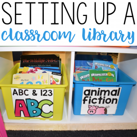 Setting Up a Classroom Library