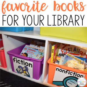 Favorite Books for Your Library
