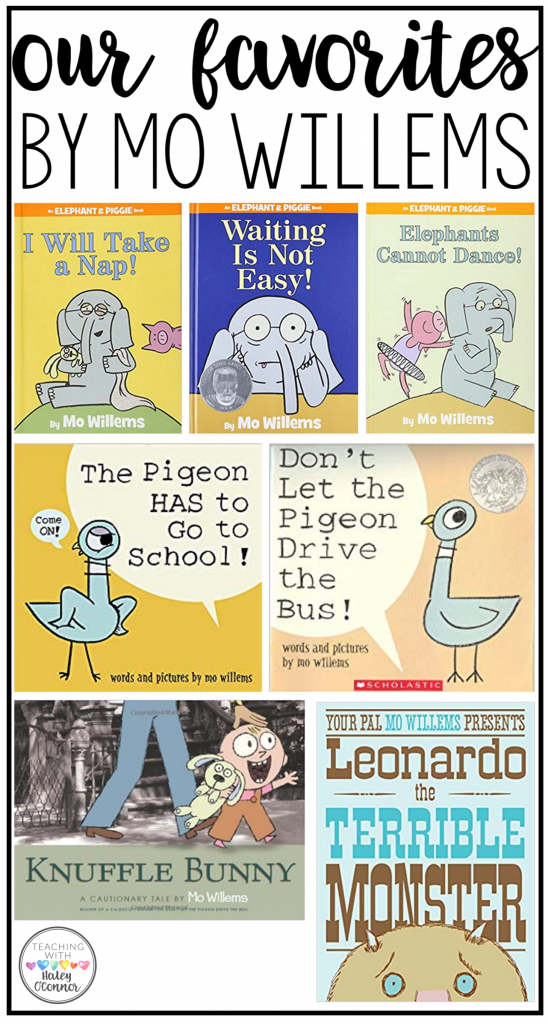 Favorite Mo Willems Books