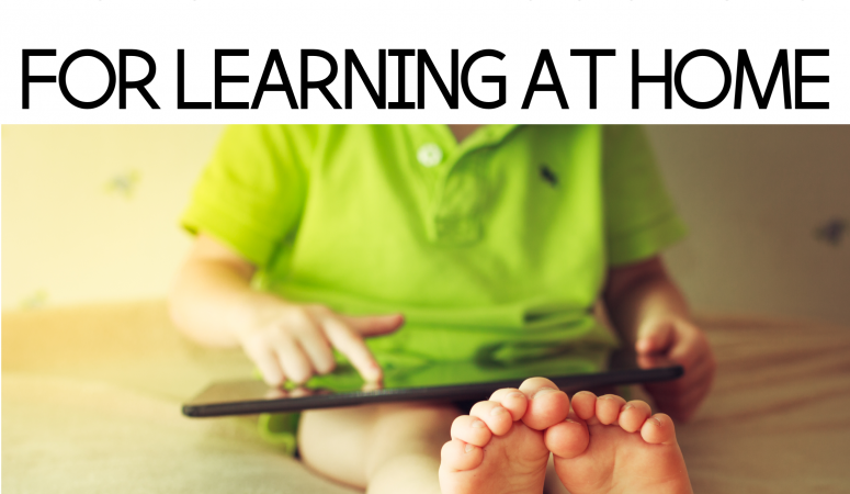 Family Blog Series #3-Online Resources for Learning at Home