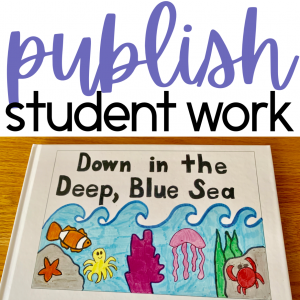 Student Work Published into Books