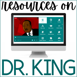 Resources for studying Dr. Martin Luther King Jr.